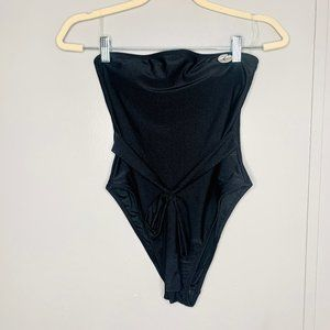 NWT Forever 21 Strapless One Piece Swimsuit L